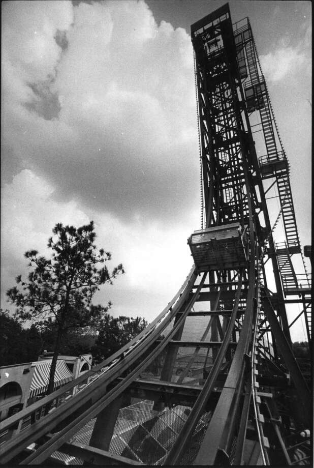 The Sky Screamer at AstroWorld pictured in April 1983