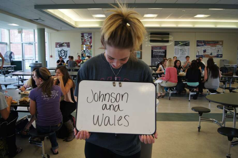 Sarah Sroczynski going to Johnson and Wales. Photo by Rosa D'Ambrosio.