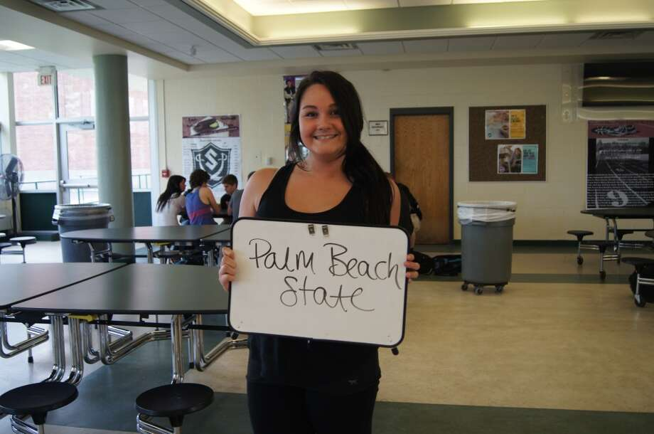Alexis Casso going to Palm Beach State. Photo by Rosa D'Ambrosio.