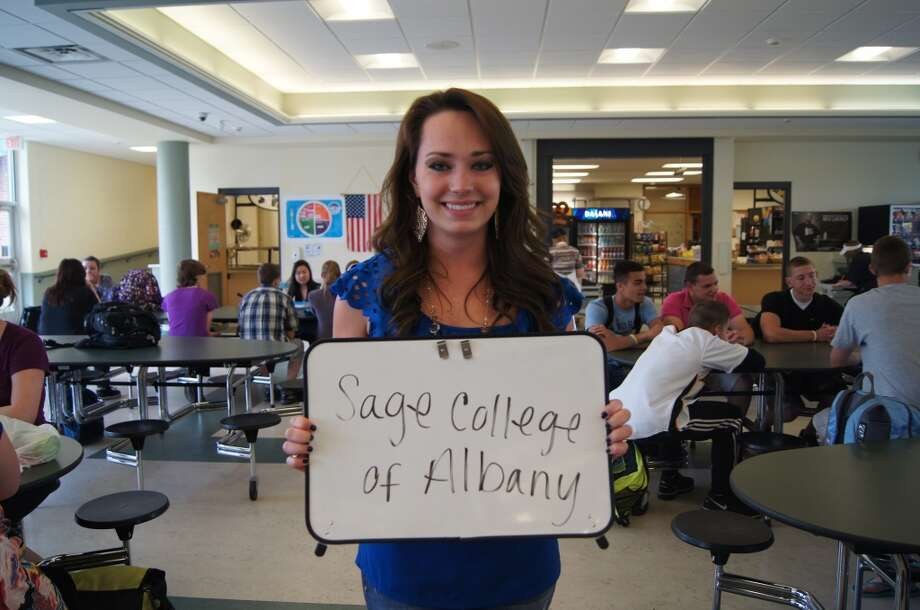 Natalie Ericson going to Sage College of Albany. Photo by Rosa D'Ambrosio.