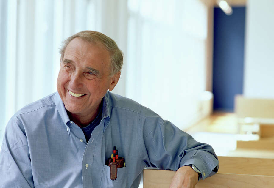Architect Peter Bohlin designed Apple stores, Pixar Studios and Steve Jobs' house. Photo: Nic Lehoux