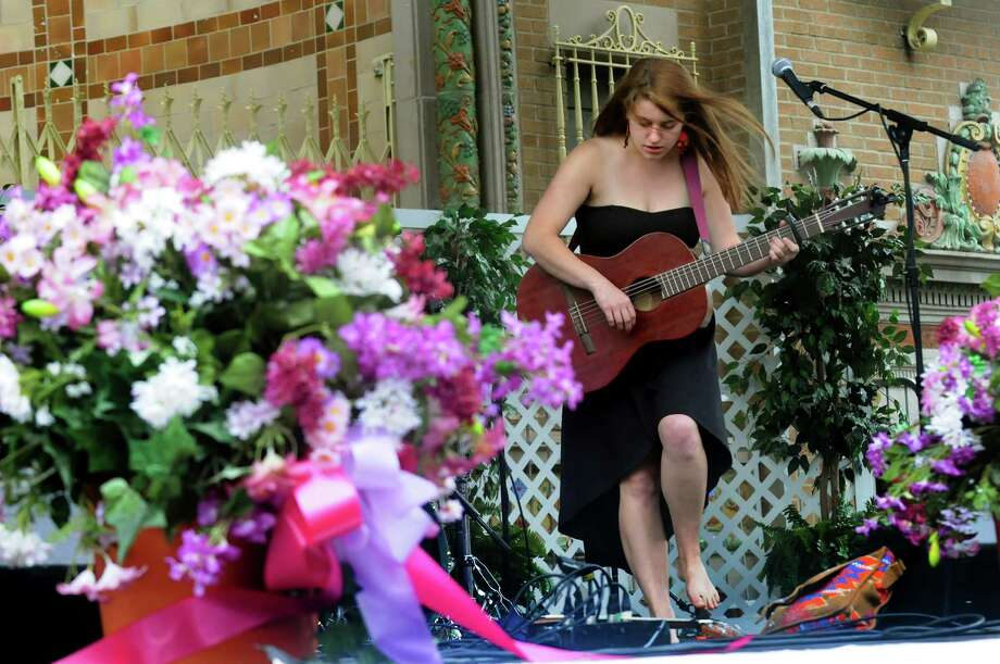 Olivia Quillio performs on the 518 stage during the Tulip Festival on Saturday, May 11, 2013, at Washington Park in Albany, N.Y. (Cindy Schultz / Times Union) Photo: Cindy Schultz / 00022344A