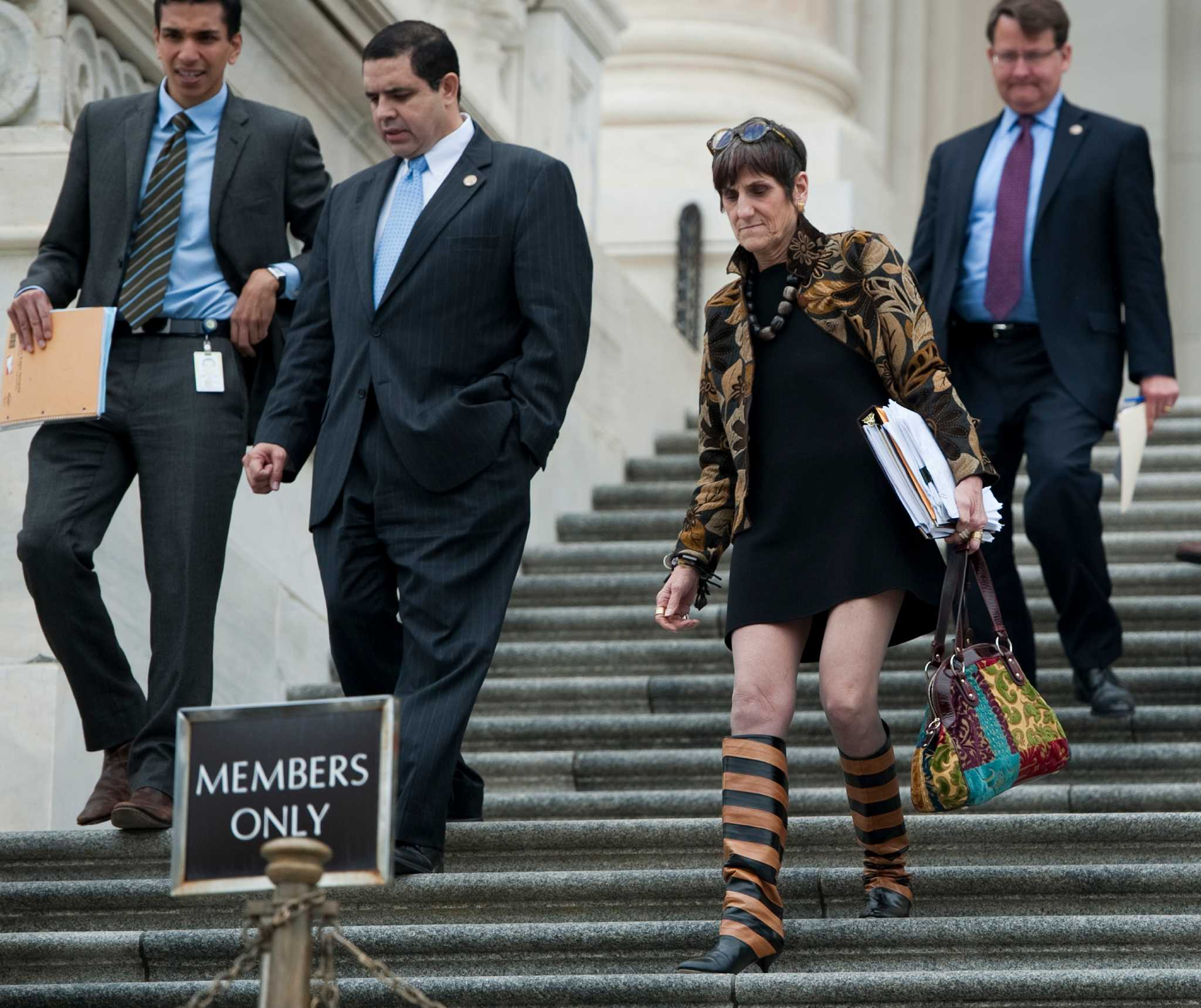 Rosa Delauro Behind The Flamboyance Newstimes