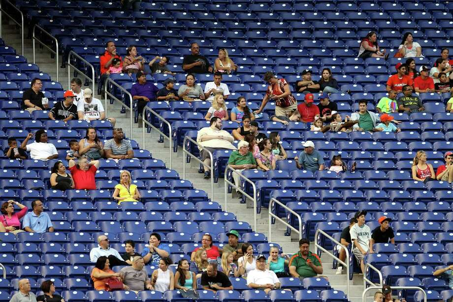 Only the Marlins fan base has shown more frustration with its local team than Astros loyalists have. Photo: Marc Serota, Stringer / 2013 Getty Images