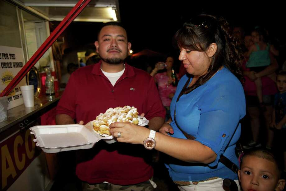 The 3rd Annual Twisted Taco Truck Throwdown, Saturday, May 11 at the VFW Post 76. A portion of proceeds benefits the VFW Post 76 Veteran Relief Fund. Photo: Xelina Flores-Chasnoff / For The Express-News