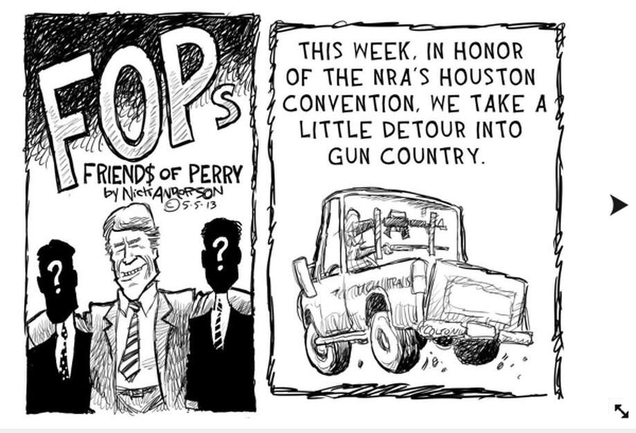 Nick Anderson Houston Chronicle