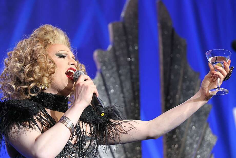Drag Queen Jinkx Monsoon performed at the annual GLAAD media awards Saturday, May 11, 2013 in San Francisco, Calif. Photo: Lance Iversen, The Chronicle