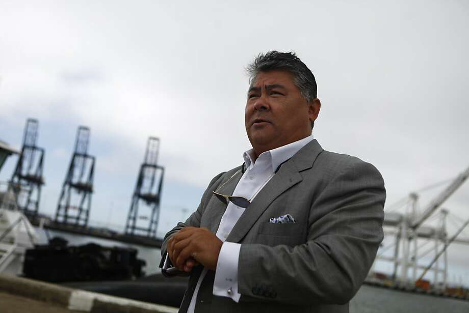 Phil Tagami, a friend of Gov. Jerry Brown, got a grant for his big port development project. Photo: Lea Suzuki, The Chronicle