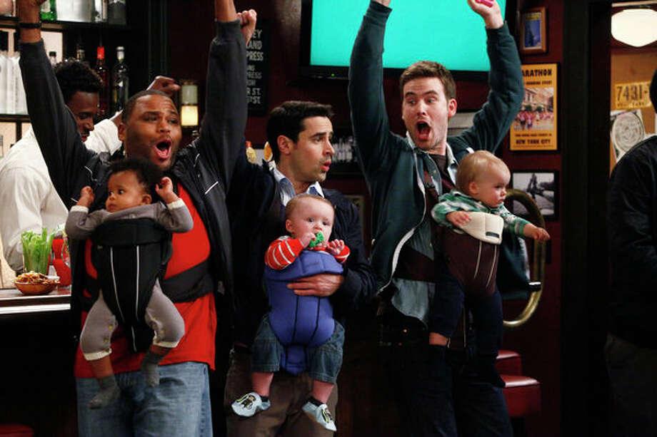 GUYS WITH KIDS:  2012 - February 27, 2013 Photo: NBC, Vivian Zink/NBC / 2012 NBCUniversal Media, LLC