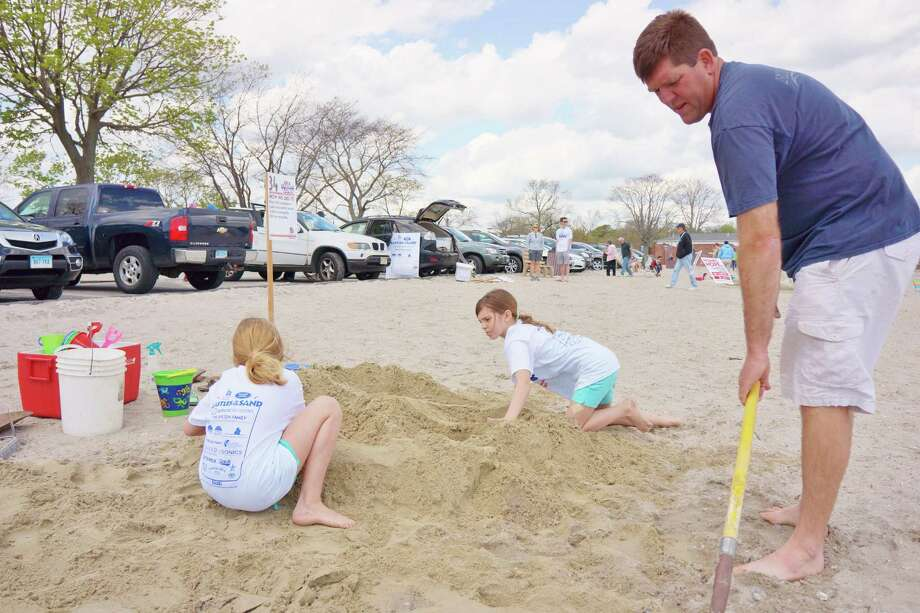 Were you SEEN at the Castles In The Sand sculpture competition sponsored by Homes With Hope held at Compo Beach on Saturday and Sunday(Mother's Day)? 5/12/2013 Photo: Todd Tracy/ Hearst Connecticut Media Group