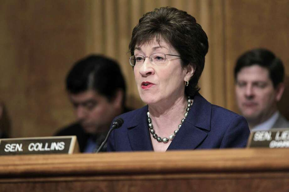 "Sen. Susan Collins, R-Maine, said revelations about the IRS singling out conservative groups for extra scrutiny on their applications for tax-exempt status are ""absolutely chilling."" Photo: Associated Press File Photo"