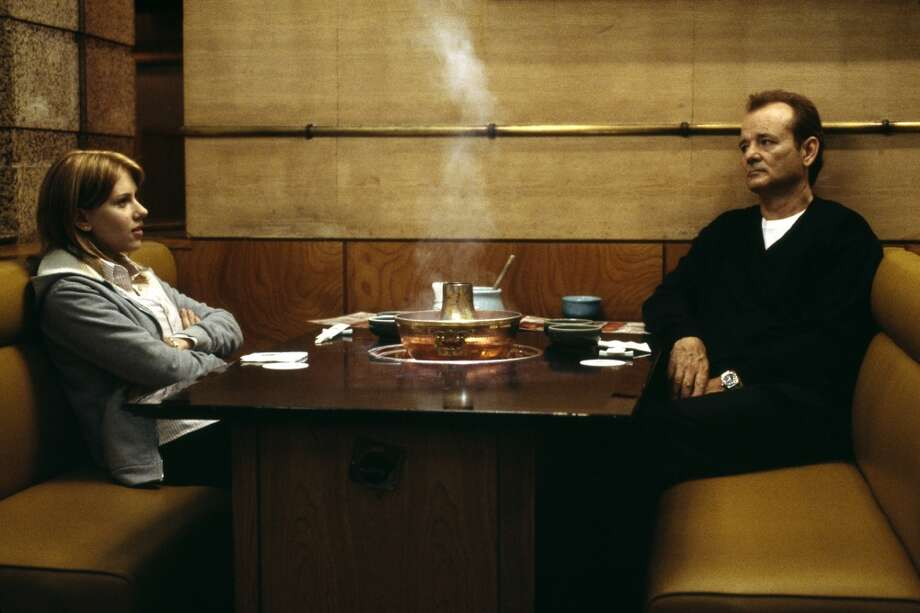 Scarlett Johansson (left) and Bill Murray (right) star in Sofia Coppola's Lost In Translation. THIS is what kids need to be protected from?