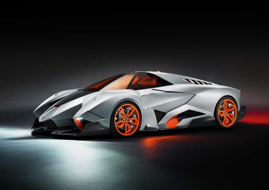 Lamborghini introduced a surprising new concept car over the weekend. The Egoista will make you think you are behind the wheel of a Formula One car. Photo: Klaus Becker, Lamborghini
