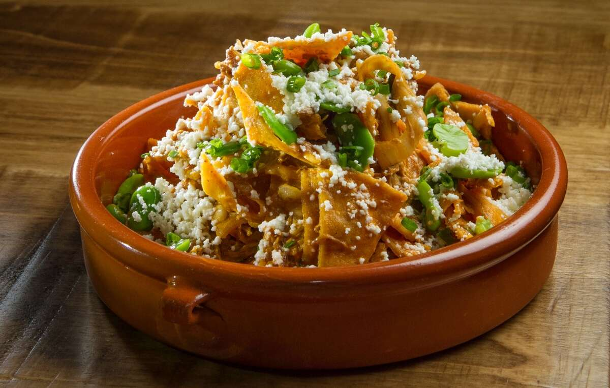 The Duck Chilaquiles at Padrecito.