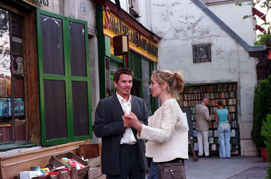 Before Sunset, with Julie Delpy and Ethan Hawke.  Another R rating.  Again, WHY??? Photo: AP / WARNER INDEPENDENT PICTURES