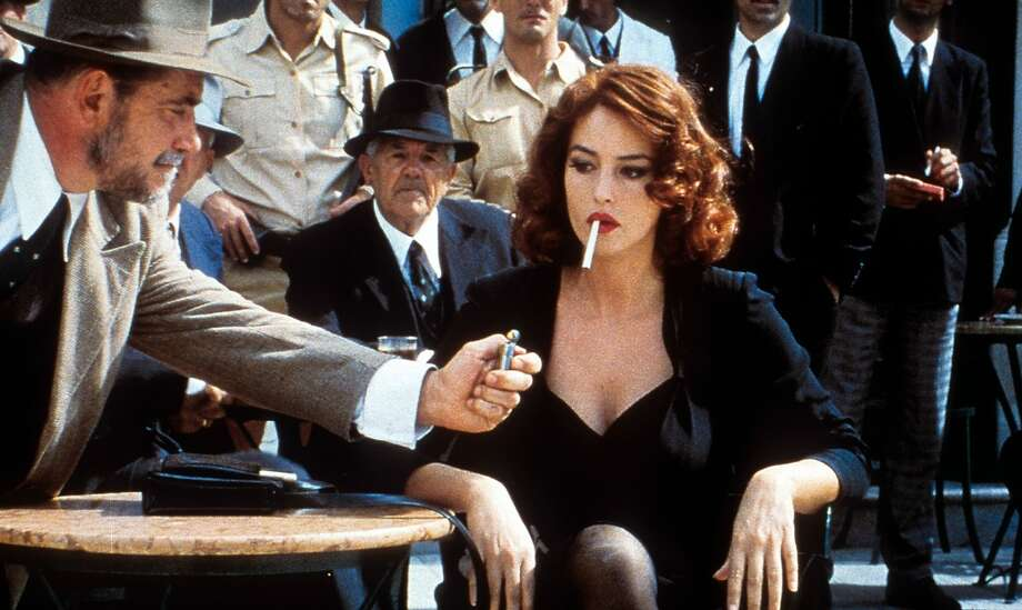 Monica Bellucci in a scene from the film Malena, 1993.