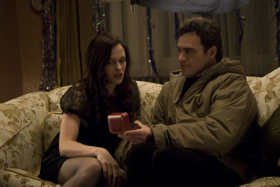 "Vinessa Shaw  and Joaquin Phoenix in ""Two Lovers.""  One of the best films of 2009."