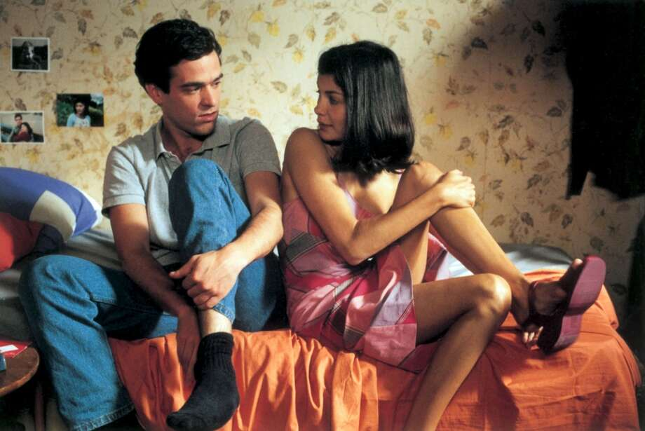 "Romain Duris and Audrey Tautou in  ""L' Auberge Espagnole.""  Another example of a foreign film getting the shaft."