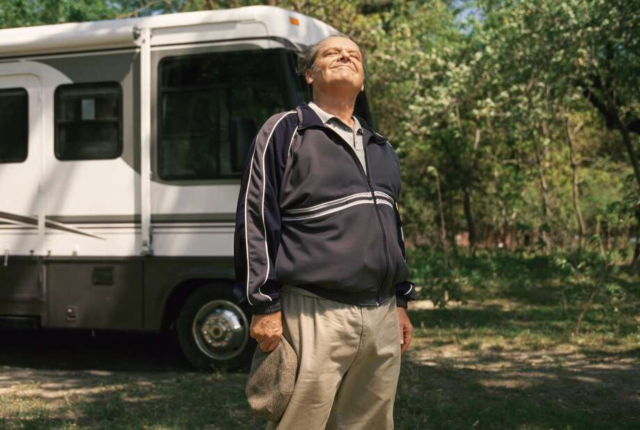 Jack Nicholson in About Schmidt.  One of the best films of 2002, rated R for very little reason.