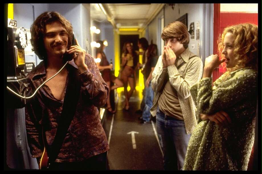 ALMOST FAMOUS -- practically harmless, compared to violent PG-13 fare.