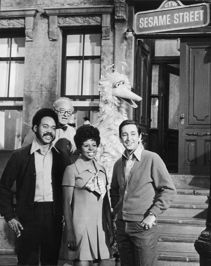 ''Sesame Street'' debuted in 1969, introducing preschoolers to ''the letter of the day,'' a busy New York City brownstone, and monsters that dwelled in trash cans and giant nests.  (Pictured is the 1969 cast, L to R: Matt Robinson, Will Lee,  Loretta Long and Bob McGrath).