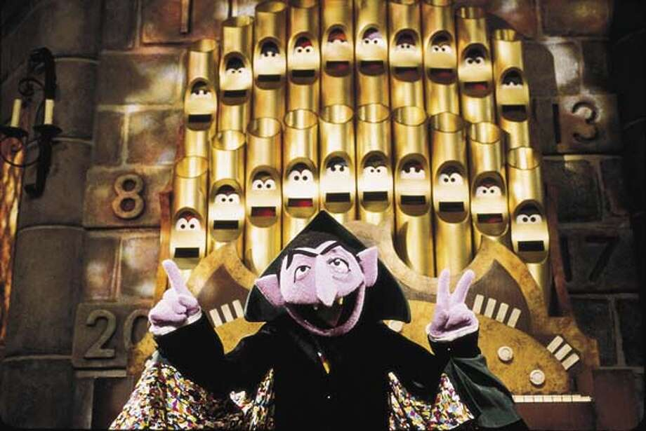 ''Vone, two, three...'' The Count made math fun and goofy. Photo: File Photo