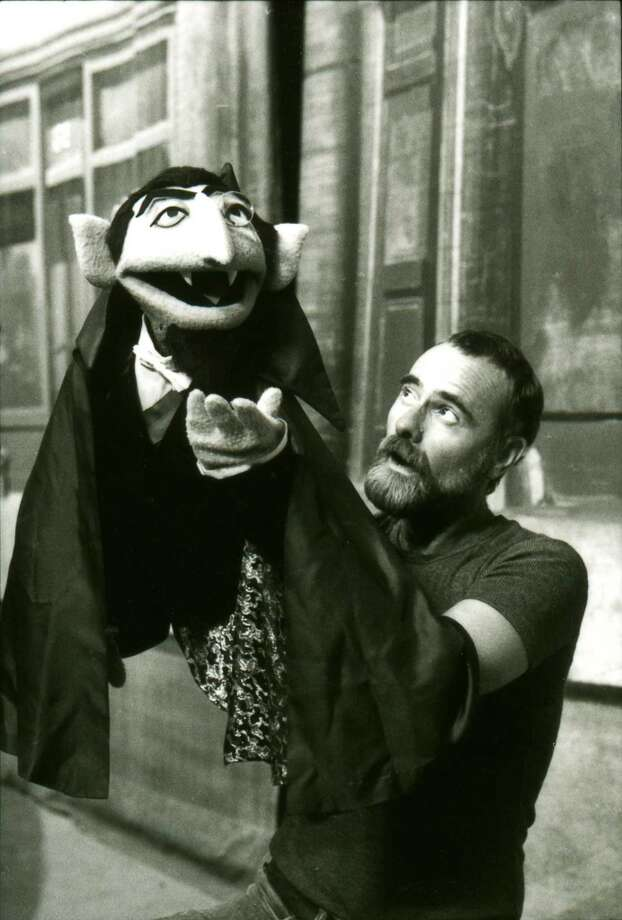 The Count's puppeteer Jerry Nelson died in 2012. (Photo date unknown).