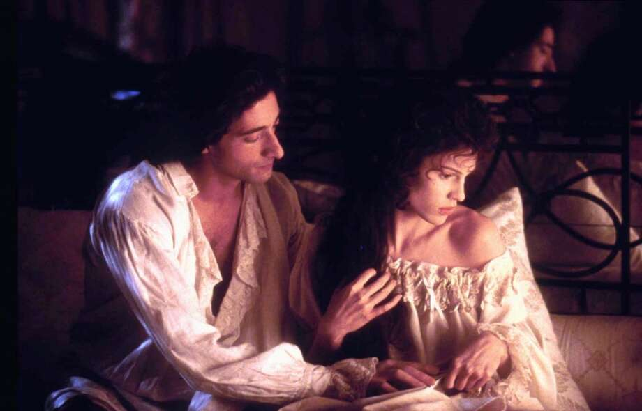 Adrien Brody and Hilary Swank in Affair of the Necklace.