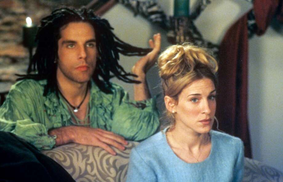 Ben Stiller and Sarah Jessica Parker in If Lucy Fell, 1996. Another R-rated film.