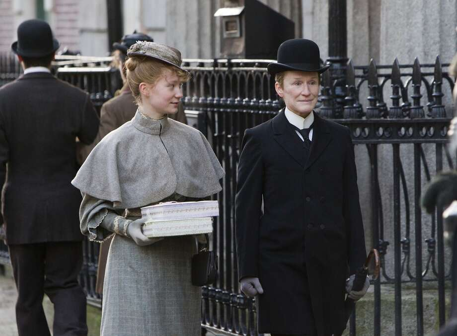 Albert Nobbs, 2011.  Rated R for breasts.