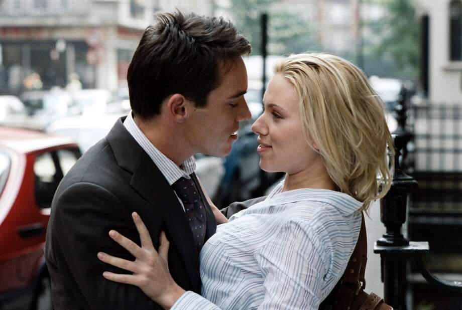 "Woody Allen's ""Match Point,"" rated R for language."