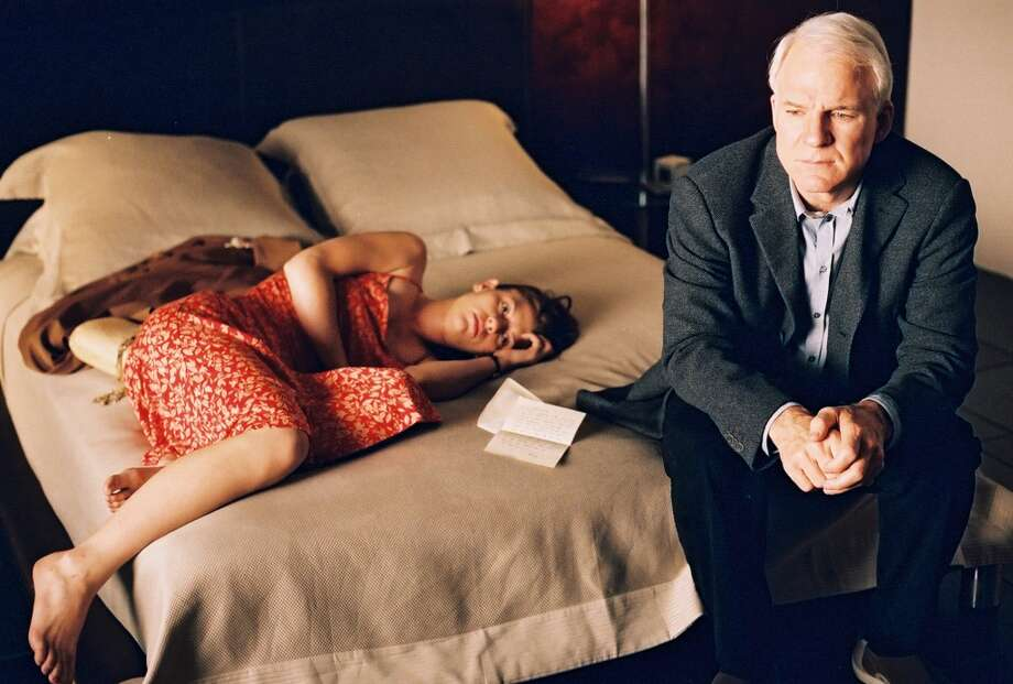 Clare Danes and Steve Martin in Shopgirl.  A sweet lovely picture, nothing to hide from the kiddies.