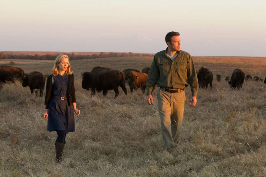"Rachel McAdams and Ben Affleck in ""To The Wonder.""  Pretty harmless and moral as the movie is long, and it's very, very long."