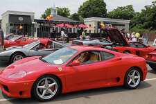 Ferraris and other classic Italian cars gleam under the sun outside of Rizzuto's Restaurant & Bar last year during the third annual Mille Ferrari car show. The eatery plans on hosting the event for the fourth consecutive year on Sunday, June 9.