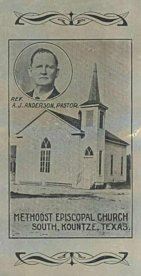 Built in 1888, the Methodist Episcopal Church of Kountze was the first church building in Hardin County. It was open for use by all denominations. Photo: Handout
