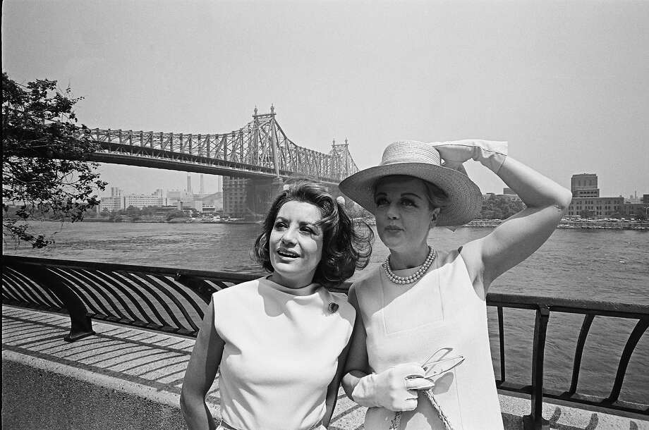 NBC News' Barbara Walters, actress Angela Lansbury in June 1966. Photo: NBC, NBCU Photo Bank Via Getty Images / Getty 2013