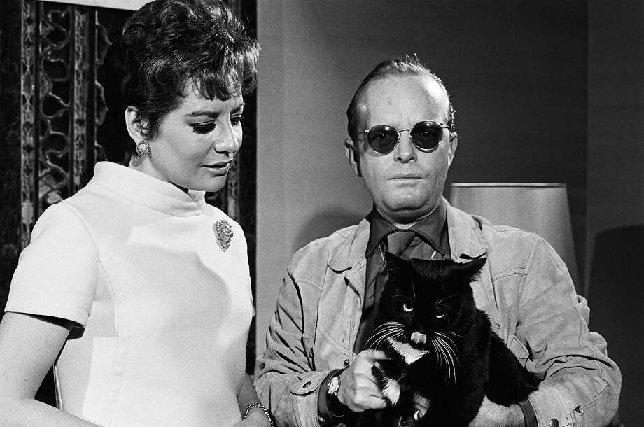 "Barbara Walters and writer Truman Capote on NBC News' ""Today"" on December 14, 1967. Photo: NBC NewsWire, NBC NewsWire Via Getty Images / Getty 2013"