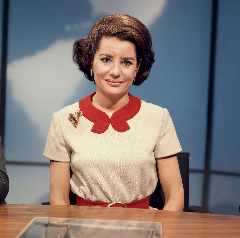 Barbara Walters on set in 1969. Photo: NBC NewsWire, NBC NewsWire Via Getty Images / Getty 2013