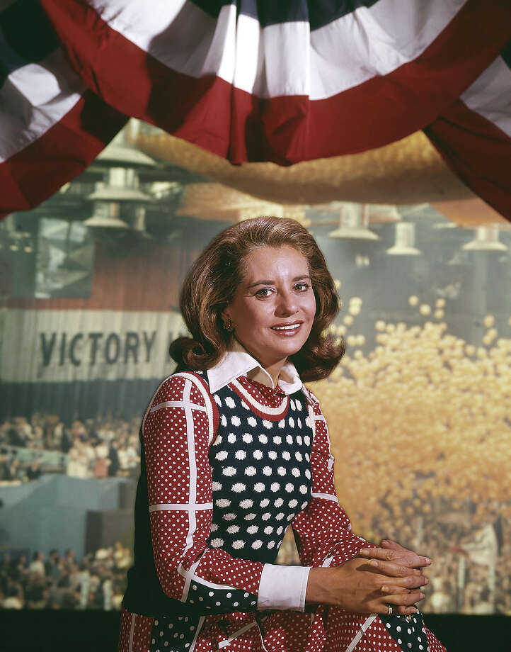 Today Show anchor Barbara Walters at the 1972 Democratic National Convention. Photo: NBC, NBC Via Getty Images / Getty 2013
