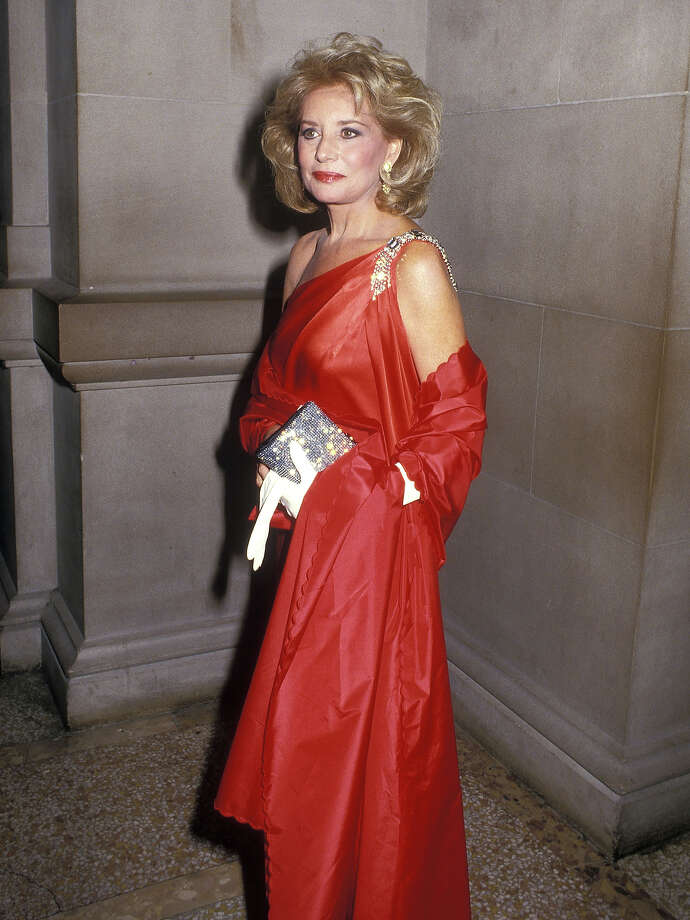 Journalist Barbara Walters attends the Sixth Annual CFDA Awards on January 12, 1987 at the Metropolitan Museum of Art in New York City. Photo: Ron Galella, WireImage / Getty 2013