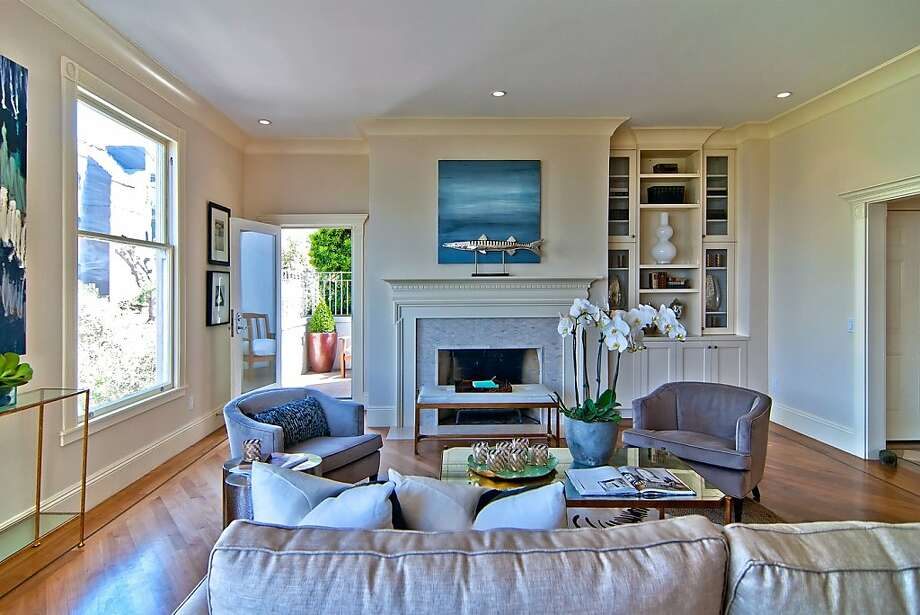 2335 Hyde St. No. 1 is a renovated condominium in Russian Hill. Photo: Sean Poreda/Luxe Home Tours