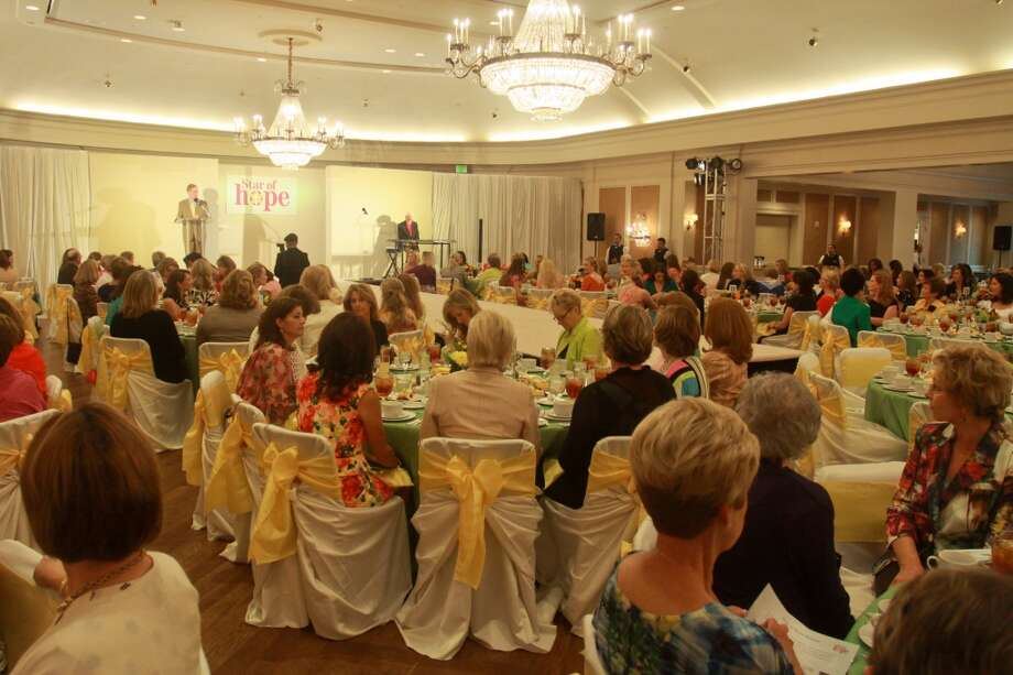 The Haute for Hope Celebrity Luncheon and Fashion Show benefiting homeless children at Star of Hope.
