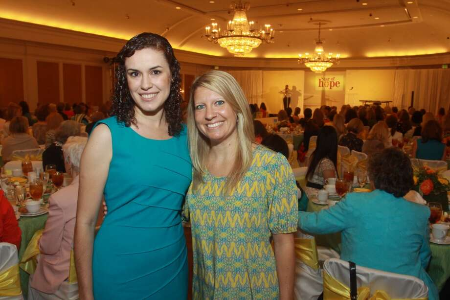 Melissa Martinez, left, and Lindsey Hodge