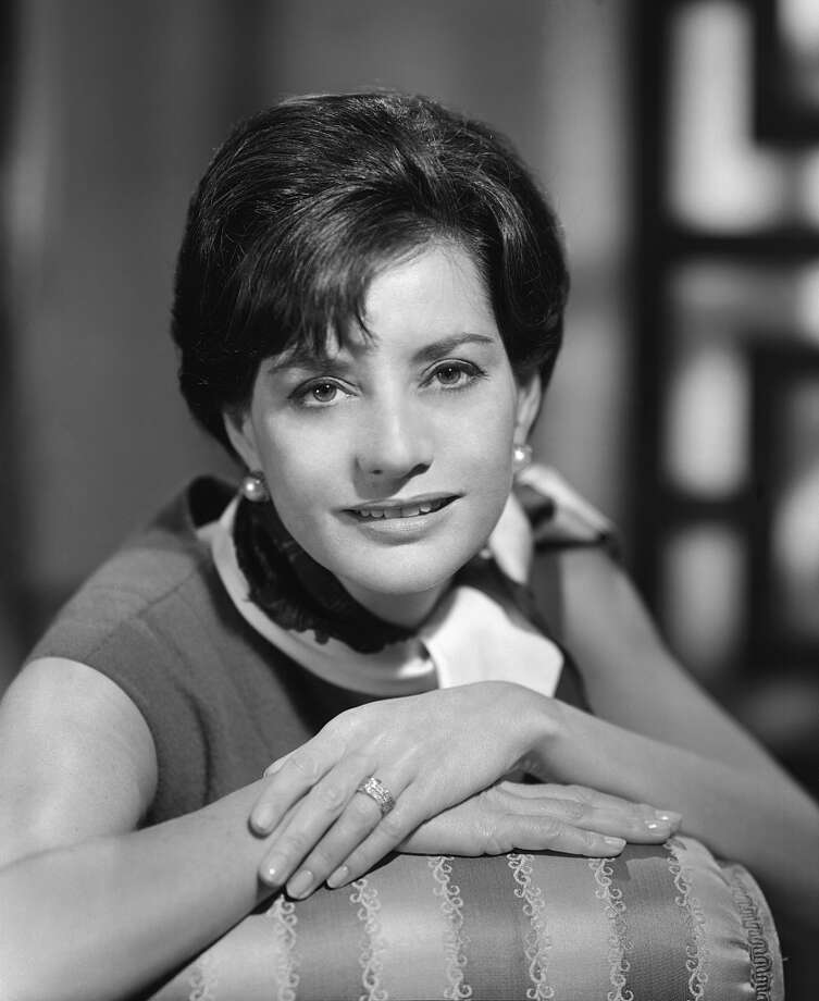 Anchor Barbara Walters in the 60s.