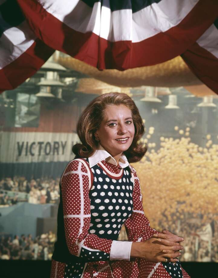 Today Show anchor Barbara Walters at the 1972 Democratic National Convention.