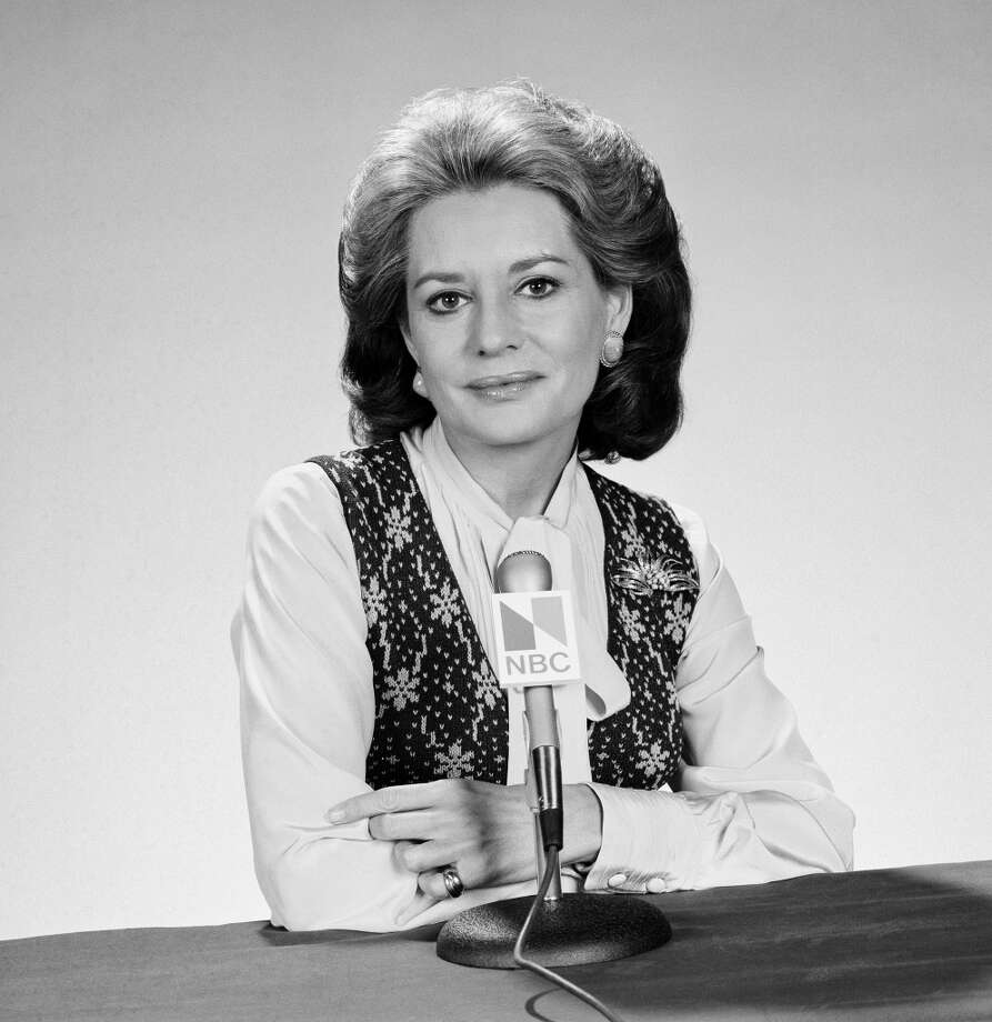 NBC New Co-anchor Barbara Walters in 1975.