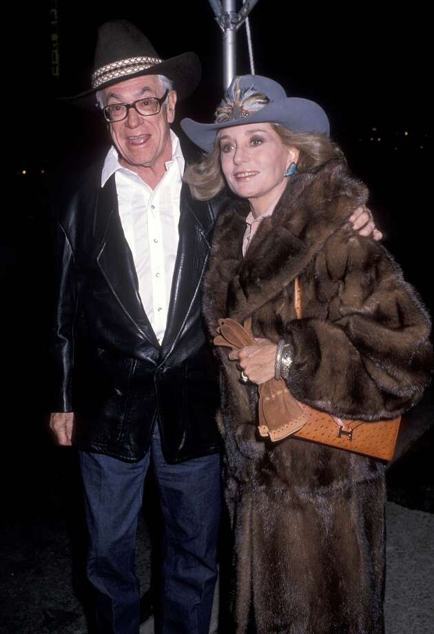 Businessman Malcolm Forbes and TV journalist Barbara Walters attend the First Annual Wild West Hoedown to Benefit the Literacy Volunteers of New York City on November 28, 1989 at St. Vartan Cathedral in New York City.