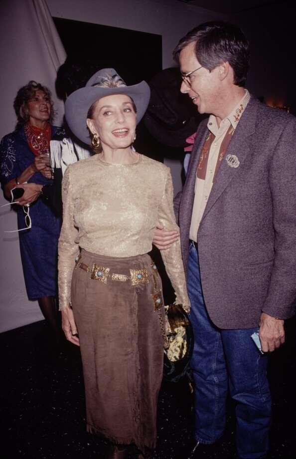 Barbara Walters  in 1990.