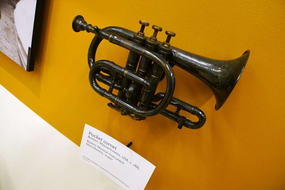 Brass instruments from every era are part of the exhibits.