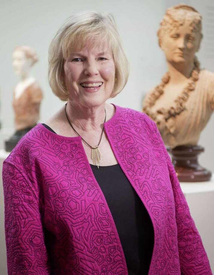 Sandy Ragan is the McNay Art Museum's docent chair. Photo: Darren Abate / For The Express-News